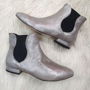 ENZO ANGIOLINI LEATHER ANKLE BOOT SZ8